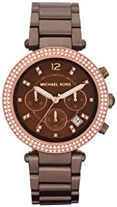 Michael Kors Mid Size Espresso Parker Brown Watch MK5578
