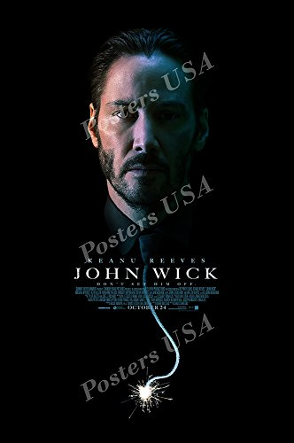 Posters Usa   John Wick Movie Poster Glossy Finish   Mov560  24  X 36   61Cm X 91 5Cm
