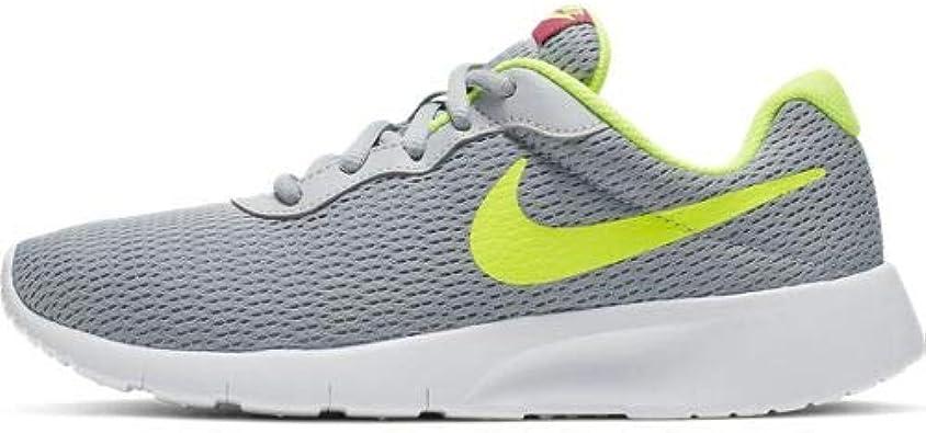 Nike Tanjun (Gs), Zapatillas de Cross Unisex Niños, Gris (Wolf Grey/Volt-Rush Pink 022), 20 EU: Amazon.es: Zapatos y complementos