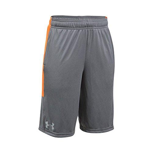 Price comparison product image Under Armour Boys Instinct Shorts, Graphite / Overcast Gray Youth Medium