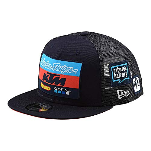 Troy Lee Designs 2019 Adult KTM Team Snapback Hat (One Size, Navy) from Troy Lee Designs