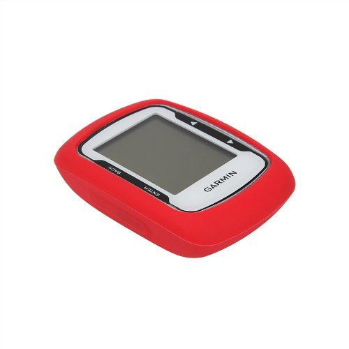New Walleva BMC Red GPS Case For Garmin Edge 500 / Edge 200