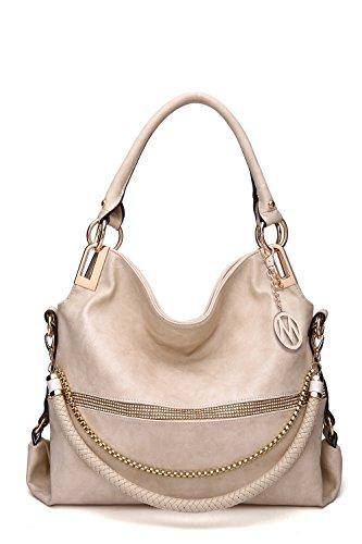 2 IN 1 Women's Twister Large New Designer Handbags Crossbody Shoulder Bag - Farrow Mia Fashion