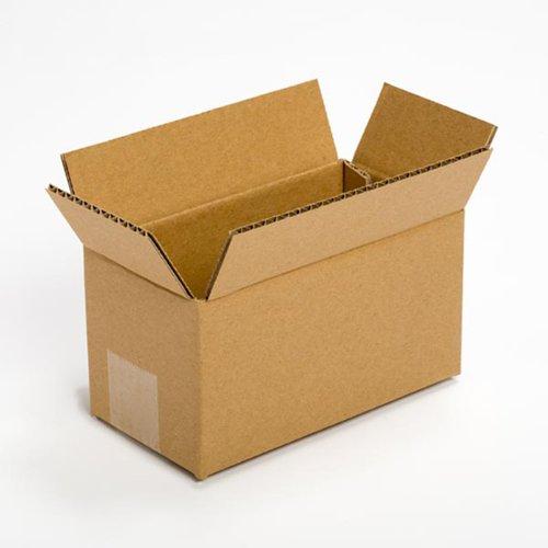 Pratt PRA0015 100% Recycled Corrugated Cardboard Box, 8