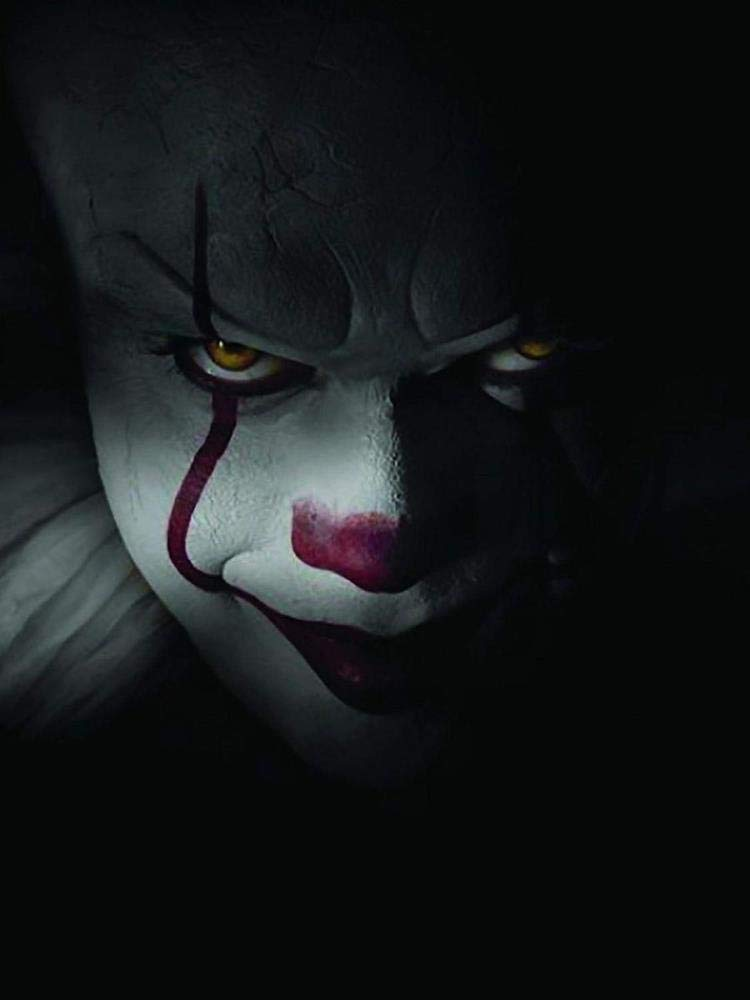It The Movie Pennywise Window Cling Halloween Decoration by 636643