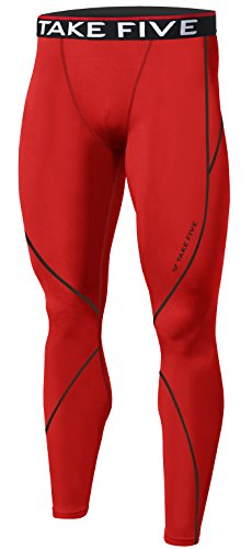 New Men Sports Apparel Skin Tights Compression Base Under Layer Long Pants (S, NP508 - Skins Mens