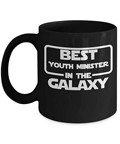 Gift For Youth Ministers - Best Youth Minister In The Galaxy - Home Office Coffee Cup Mug