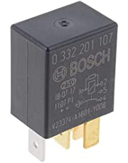 Bosch 0332201107 Changeover Micro Relays - 5 Pins, 12 V, 30/10 A