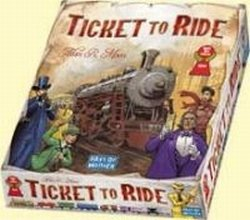 Ticket To Ride Strategy Board Game Spiel Des Jahres 2004 Award Winner