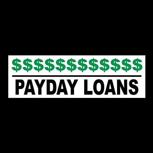 Yilooom Payday Loans Business Sticker Sign Loan Agency Cash Advance Company Vehicle