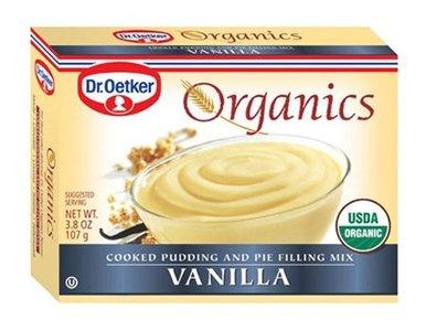 European Gourmet Bakery Pudding Mix, 95% organic, Vanilla, 3.5 oz (pack of 12 )