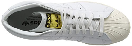 ADIDAS SNEAKERS PRO MODEL VINTAGE DLX TOTAL WHITE S75031 - 37-1-3, BIANCO