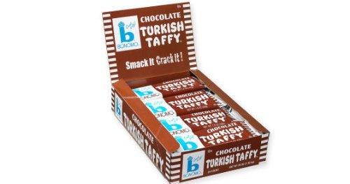 Bonomos Turkish Taffy ~ Chocolate ~ 24 Ct Box Bonomo Turkish Taffy Chocolate