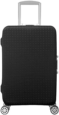 HoJax Waterproof Luggage Protector, Suitcase Covers Fits 26-28 Inch Luggage Black