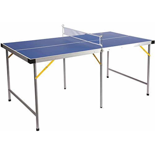 Lion Sports Folding Portable Table Tennis Ping Pong Table, 5' 63528