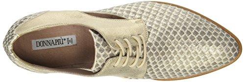 Donna Piu 51927 Carol, Zapatos de Cordones Derby para Mujer Or (Squama Camel/Sun Camel)