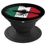 Patriotic Mexico Mexican Flag Lips %2D P