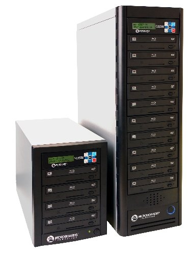 Microboards CopyWriter Pro Blu-ray/DVD/CD Duplicating Tower 10 Recorders by Microboards