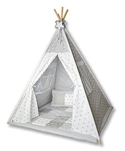 Amilian Tipi Spielzelt Zelt Für Kinder T01 Spielzelt Mit Der