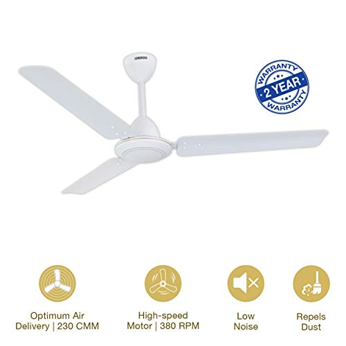Luminous Morpheus Anti-Rust 1200mm Ceiling Fan White at best price offers and discounts