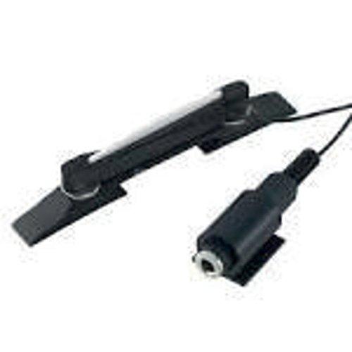 Shadow Electronics SH-980 Archtop Guitar Ebony Bridge with Piezo Pickup ()