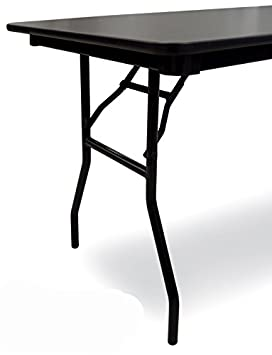 Superb B Line Black Folding Table Leg 29 H X 23 W Set Of 2 Interior Design Ideas Oteneahmetsinanyavuzinfo