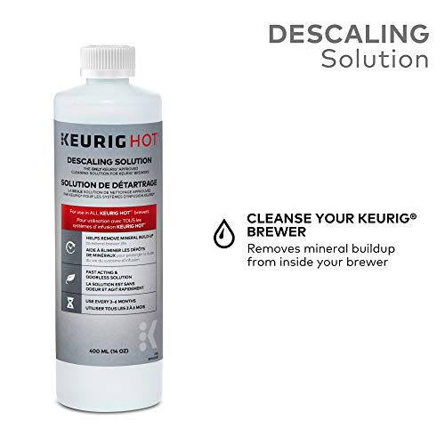 Keurig: solución descalcificadora para todas las cafeteras de café Keurig 2.0 y 1.0 K-Cup Pod