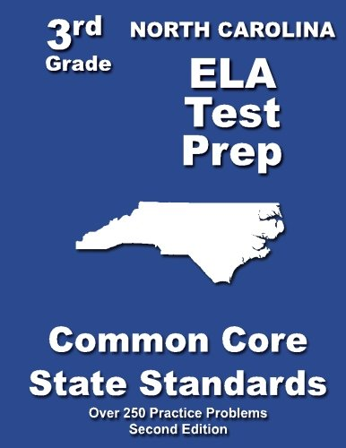 North Carolina 3rd Grade ELA Test Prep: Common Core Learning Standards