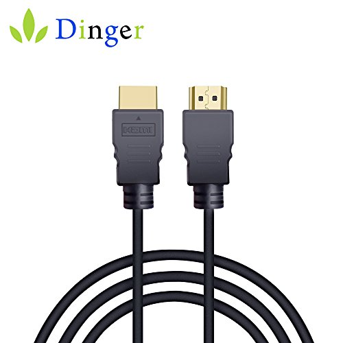 HDMI Cable, Dingsun High-Speed HDMI Cable, 3.3 Feet, Supports Ultra HD, 3D, 1080p, Ethernet and Audio Return (HDMI Cable)