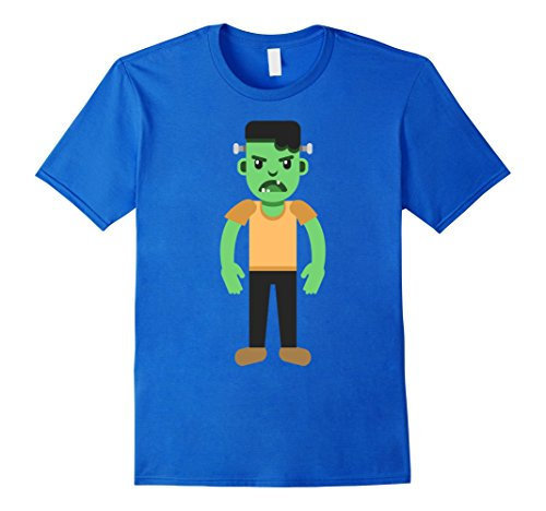 Ideas Zombie Outfit (Mens Halloween Zombie T Shirt Scary Night Costume Tee Gifts Idea Small Royal)