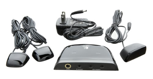 Logitech 915-000139 Harmony IR Extender System - Black (Discontinued by Manufacturer) by Logitech
