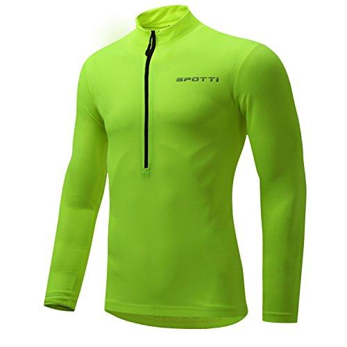 Spotti Men s Long Sleeve Cycling Jersey c67f78ba5