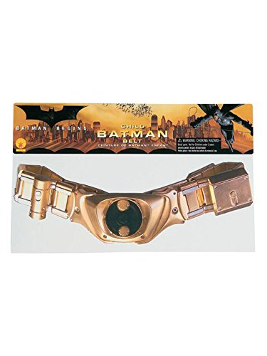Batman: The Dark Knight Rises: Batman Utility Belt, Child Size (Gold) (Batman Costume Grappling Hook)