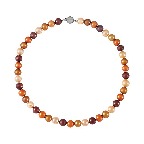 Sterling Silver Summer Motif Multi-colored Freshwater Cultured Pearl Bracelet, 7.75'' by Precious Gem Jewellers