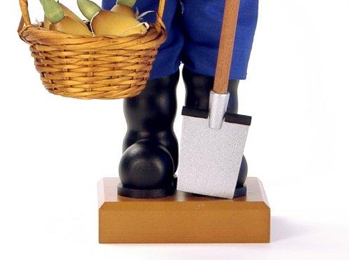 German Christmas Nutcracker Mr. Spring - 53cm / 21 inch - Christian Ulbricht by Authentic German Erzgebirge Handcraft