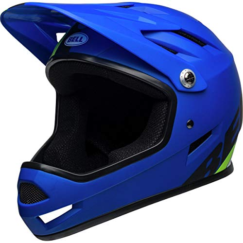 Bell Sanction Bike Helmet - Agility Matte Blue/Green X-Small