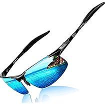 ATTCL Mens Driving Polarized Sunglasses for Men Metal Frame Ultra Light