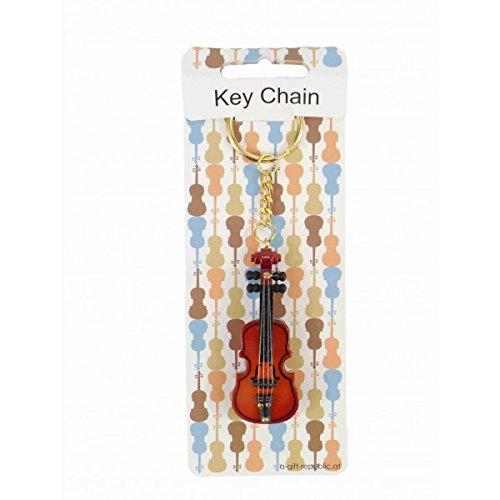 Llavero violín madera 6,5 cm: Amazon.es: Instrumentos musicales