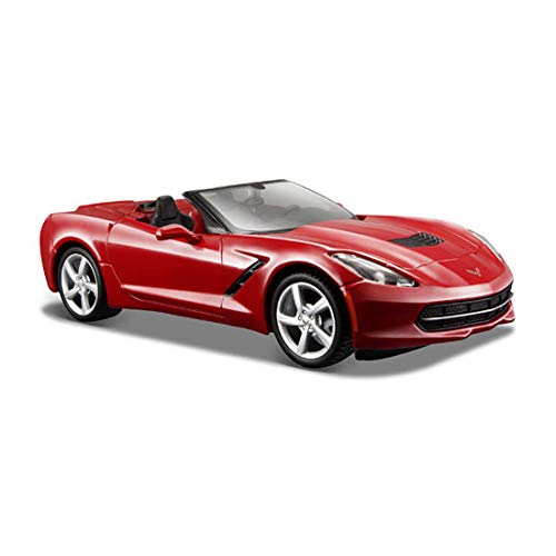 (Maisto 1:24 Scale 2014 Corvette Stingray Convertible Diecast Vehicle (Colors May Vary))