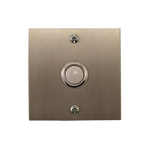 Square Stainless Steel Doorbell