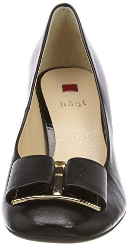 Högl 5-10 5080 0100, Scarpe con Tacco Donna Nero (Schwarz)