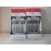 Canon® P23-DHV 12-Digit Two-Color Printing Mini desktop Calculator,PRINTG,12 DGT (2 Pack)