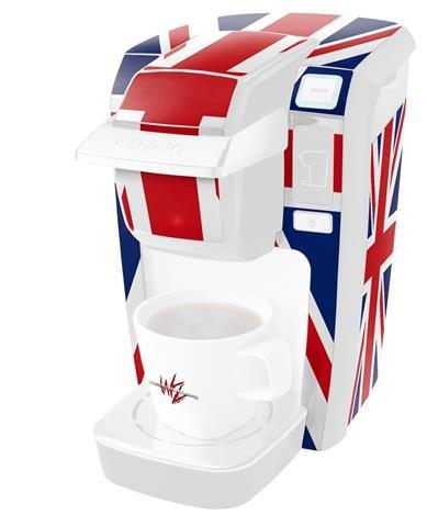 Union Jack 02 - para estilo Skin para Keurig K10/K15 Mini Plus ...