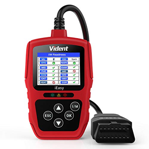 VIDENT iEasy300 OBD2 Scanner Enhanced Car Code Reader Automotive Engine Light System Diagnostic Tool Universal Vehicle CAN Scan Tools(New Version)