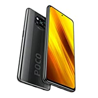 Xiaomi Poco X3 NFC 64GB, 6GB RAM, 5160mAh (typ) Large Battery, 6.67″ DotDisplay, QUALCOMM Snapdragon GSM LTE Factory Unlocked Smartphone – International Version (Shadow Gray)