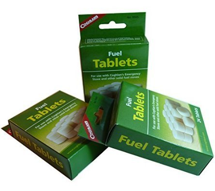 Coghlan's Solid Fuel Tablets 72 Pack
