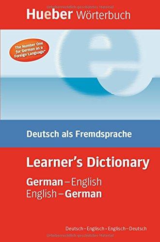 Hueber Wörterbuch Learner's Dictionary: Deutsch als Fremdsprache / German-English / English-German (Hueber Zweisprachige Wörterbücher)