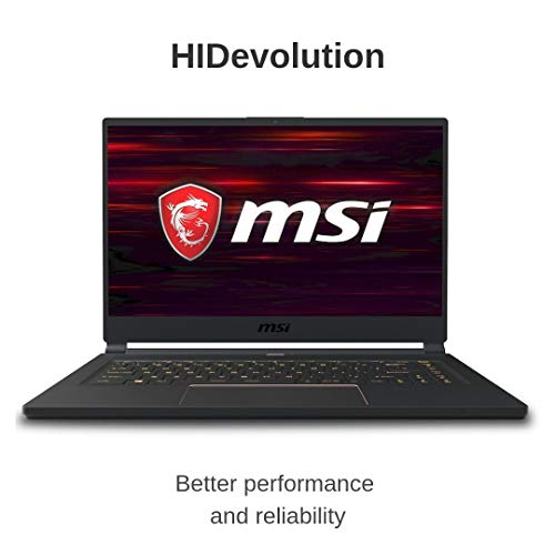 Compare HIDevolution MSI GS65 8SE Stealth-1402 (MS-GS651402-HID10) vs other laptops