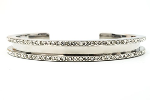 - The Original Hair Tie Bracelet - Allure by Maria Shireen - Steel Silver - Medium