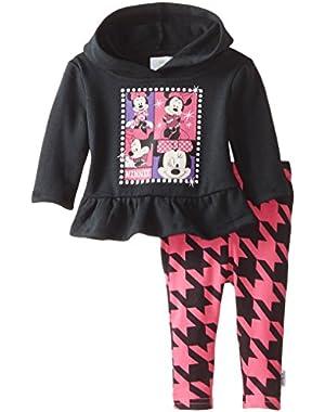 Baby Girls' Minnie Mouse Fleece Hoodie Set